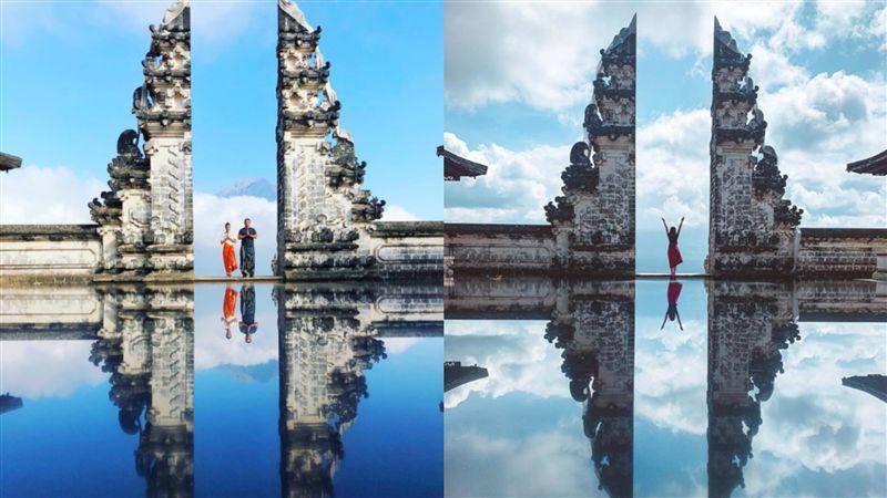 影/峇里島「天堂之門」美景攏係假? 網美揭殘酷拍攝真相