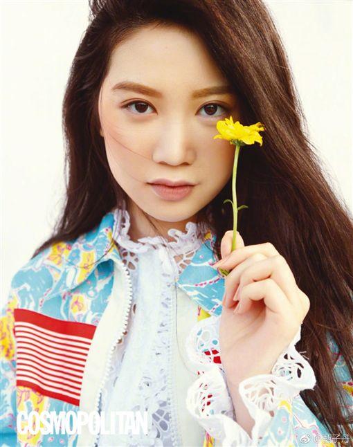 甄子丹二女兒Jasmine(甄濟如)登上柯夢波丹雜誌。(圖/合成自Jasmine IG)
