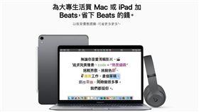 圖/翻攝自官網,蘋果產品促銷