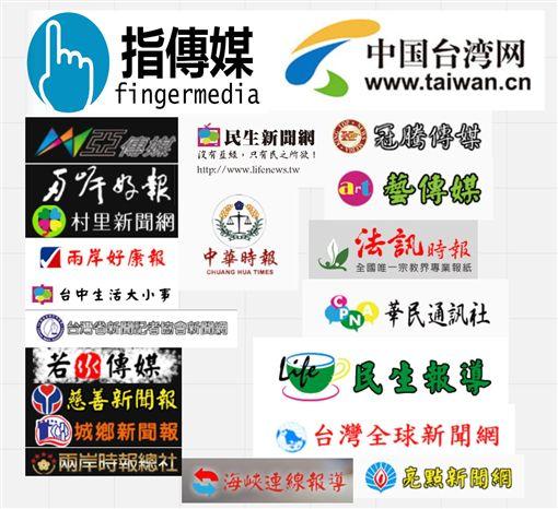 中國,網媒,統戰,假新聞 圖/翻攝自林雨蒼臉書