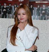 韓國女團CLC成員Sorn。(記者邱榮吉/攝影)