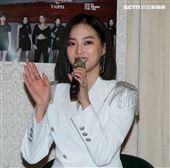 韓國女團CLC成員睿恩。(記者邱榮吉/攝影)