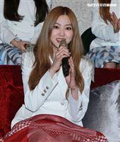韓國女團CLC成員EunBi。(記者邱榮吉/攝影)