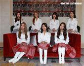 韓國女團CLC成員(由左至右)丞延、Elkie、承姬、EunBi、Sorn、睿恩、有真來台粉絲見面會。(記者邱榮吉/攝影)
