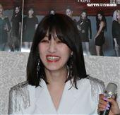 韓國女團CLC成員承姬。(記者邱榮吉/攝影)