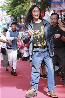 劉德華與導演邱禮濤出席電影《掃毒2 天地對決》西門町封街粉絲會,導演邱禮濤。(記者林士傑/攝影)