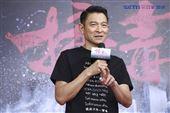 劉德華出席電影《掃毒2 天地對決》西門町封街粉絲會。(記者林士傑/攝影)