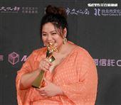 2019台北電影節頒獎典禮最佳新演員蔡嘉茵。(記者邱榮吉/攝影)