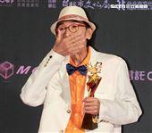 2019台北電影節頒獎典禮最佳男主角小戽斗。(記者邱榮吉/攝影)
