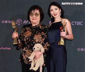 2019台北電影節頒獎典禮最佳女主角劉引商、李亦捷。(記者邱榮吉/攝影)