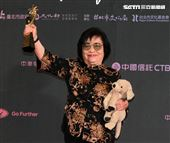 2019台北電影節頒獎典禮最佳女主角劉引商。(記者邱榮吉/攝影)