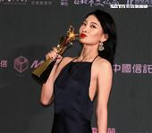 2019台北電影節頒獎典禮最佳女主角李亦捷。(記者邱榮吉/攝影)