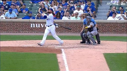 ▲小熊先發投手雷斯特(Jon Lester)6.2局優質先發、3打數2安打轟陽春砲。(圖/翻攝自MLB官網)