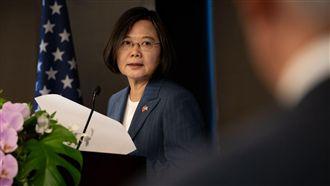再向國際喊話 總統:中國正加強軍力