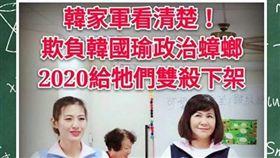 韓粉,陸淑美(圖/翻攝臉書社團「2020韓國瑜總統後援會(總會)」)