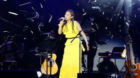 瑞瑪席丹昨舉辦首場演唱會。(圖/愛貝克思提供)