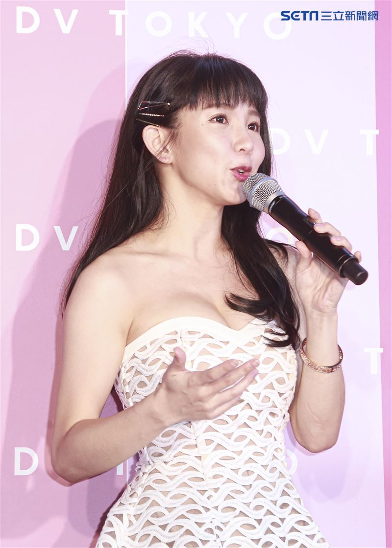 郭書瑤出席品牌快閃店活動會。(記者林士傑/攝影)