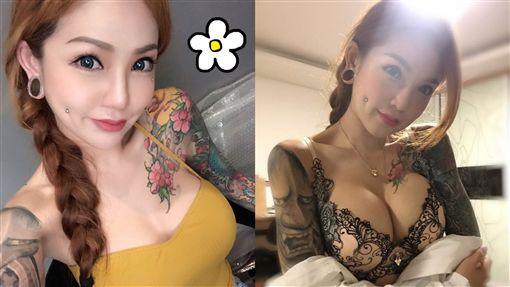 刺青師,辣媽,Kinki Ryusaki,高EQ,回應,微博 圖/翻攝自微博