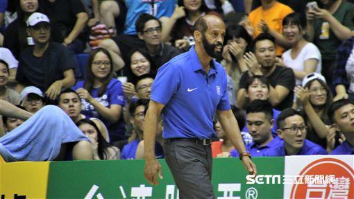 瓊斯盃中華藍總教練帕克。(圖/記者劉家維攝影)