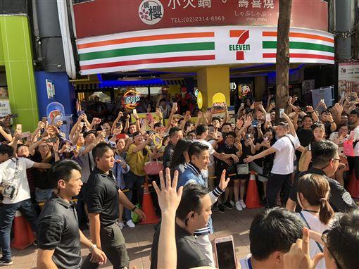 台北,西門町,劉德華,反毒,交通安全,防詐犯罪
