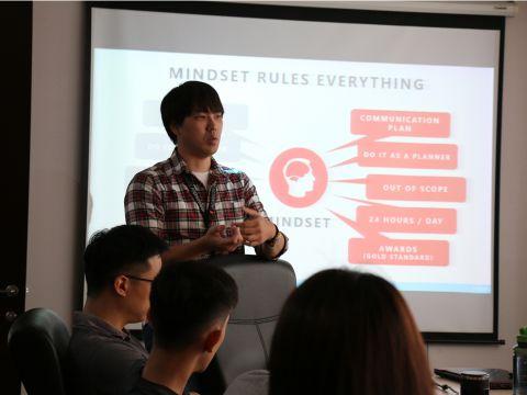 凱絡媒體數位轉型副總經理「牛恆泰」親臨域動行銷月會演講