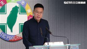 民進黨副秘書長林飛帆。(圖/記者盧素梅攝)