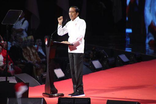 印尼總統佐科威14日發表「印尼願景」演講,勾勒下一任期的施政重點。