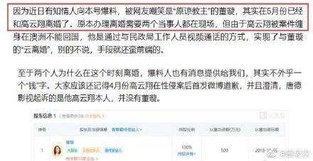 高雲翔,董璇/翻攝自微博