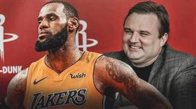 NBA/他佔用詹皇車位…還高調曬照 NBA,休士頓火箭,Daryl Morey,洛杉磯湖人,LeBron James 翻攝自推特