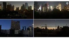 美國,曼哈頓,停電,百老匯,即興秀