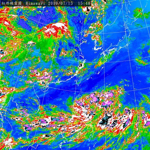 日烈風警報!颱風若近台不排除發海警(圖/氣象局)