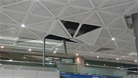 天花板,桃園機場,第二航廈,桃園/翻攝臉書
