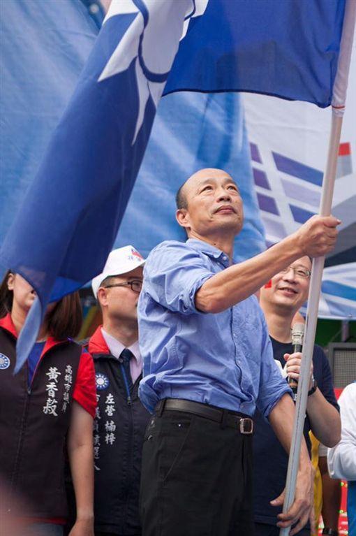 國民黨總統參選人、候選人、高雄市長、韓國瑜,圖翻攝自臉書