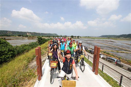 台中市,甲后線,自行車,農村風光,觀光