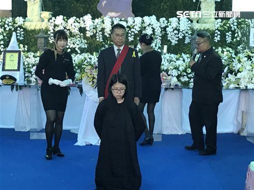 李承翰,告別式,外甥女,嘉義,翻攝畫面