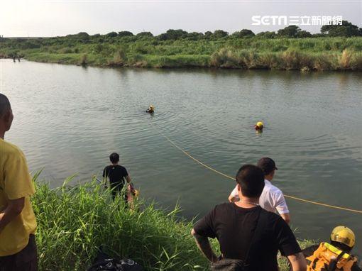 捕魚,溺水,叔叔,苗栗,翻攝畫面