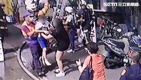 消防員,男童,接生,桃園,翻攝畫面