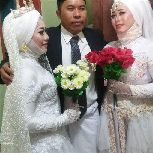 印尼,小老婆,結婚,一夫多妻,正宮(圖/翻攝自臉書)