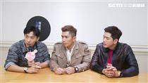 演員陳羅密歐、黃俊雄、陳泂江專訪。(記者林士傑/攝影)