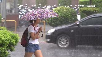 輕颱「丹娜絲」估今晚海警 嚴防豪雨