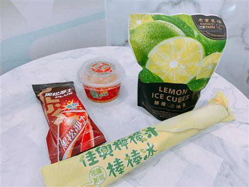 超商冰品。
