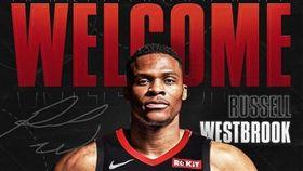 NBA/火箭正式送走保羅、獲得威少 NBA,休士頓火箭,Russell Westbrook,奧克拉荷馬雷霆,Chris Paul 翻攝自火箭官方推特