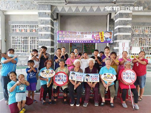 台東大武分局結合部落舉辦青少年文化成長營活動,宣導保護青少年「青春專案」(圖/大武分局提供)