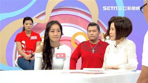 馬如龍四女兒詠淇、于美人(東風衛視提供)