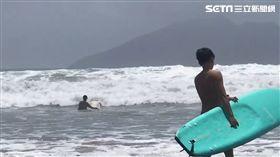 颱風,丹娜絲,烏石港,衝浪,宜蘭