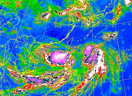 丹娜絲颱風發陸警1130氣象局
