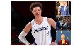 NBA/獨行俠惡搞球員 德佬慘躺槍 NBA,達拉斯獨行俠,Dirk Nowitzki,退休,Luka Doncic,Kristaps Porzingis 翻攝自推特
