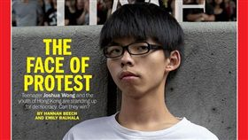 反送中,香港,示威者,時代雜誌,黃之鋒(圖/翻攝自TIME臉書)