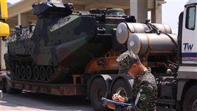 國防部投入丹娜絲颱風風災防治。