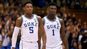 NBA/今年頂級新秀2K數值出爐! NBA,選秀,2K,Zion Williamson,RJ Barrett 翻攝自推特